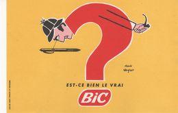 Buvard BIC - Stationeries (flat Articles)
