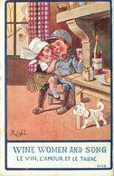 RIGHT (illustrateur) - Le Vin,l'amour Et Le Tabac (enfant Soldat). - Right