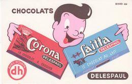 Buvard DELESPAUL - Cocoa & Chocolat