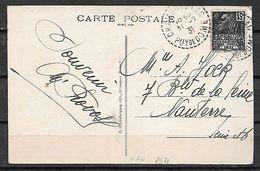 FRANCE 270 Sur Cp CHAMBON - 1939-44 Iris