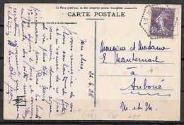 FRANCE 236 Sur Cp HOHWALD - 1906-38 Semeuse Camée
