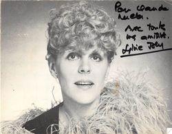SYLVIE JOY-DEDICACE- - Autographes