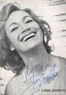 LYDIA ZAVATTA -DEDICACE- - Autographes