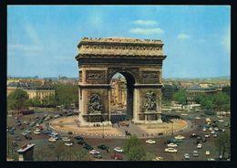 CPA 75 PARIS - Arc De Triomphe Années 60 - Arc De Triomphe