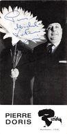 PIERRE DORIS-DEDICACE- - Autographes