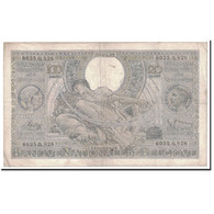 Billet, Belgique, 100 Francs-20 Belgas, 1939, 1939-03-20, KM:107, TTB - [ 2] 1831-... : Belgian Kingdom