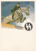 CARTE POSTALE  ALLEMAGNE  PROPAGANDE SS  DU TROISIÈME REICH - Weltkrieg 1939-45