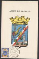 CARTE POSTALE      Du 29 Juin 57__OBL VOIR SCAN - Algérie (1924-1962)