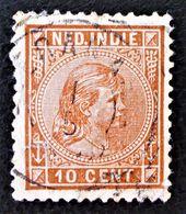 WILHELMINE 1891 - OBLITERE - YT 23 - MI 23 - BELLE OBLITERATION - Niederländisch-Indien