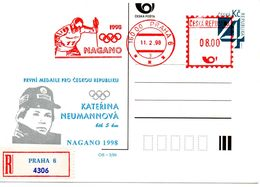 Czech Republic (98-03R) -Czech Olympic Winner Olympic Games 1998 - Postcard - Winter 1998: Nagano