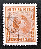 WILHELMINE 1891 - OBLITERE - YT 23 - MI 23 - Nederlands-Indië
