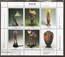 TRES BEAU BLOC  DAUM ECOLE DE NANCY ART NOUVEAU - Commemorative Labels