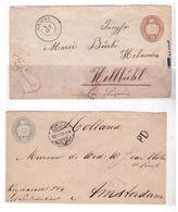 2 Buste Viaggiate A Inizio 1900 - Poststempel