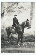 Carte-photo Gendarme à Cheval ?? - Regimenten