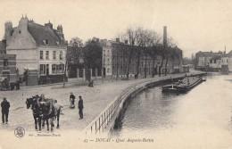 CPA - Douai - Quai Auguste Bertin - Douai