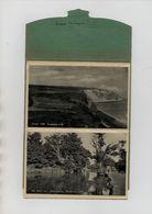 ANGLETERRE - ISLE OF WIGHT - LETTERCARD - SOUVENIR OF SANDOWN - 6 CARTES DE 1950 - Sandown