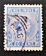 WILHELMINE 1891 - OBLITERE - YT 23 - MI 26 - BELLE OBLITERATION - Niederländisch-Indien