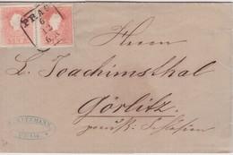 AUTRICHE LETTRE DE PRAGUE - 1850-1918 Imperium