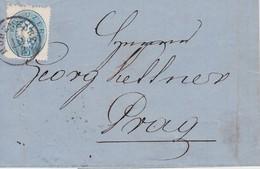 AUTRICHE  LETTRE DE HOHENELBE - Briefe U. Dokumente
