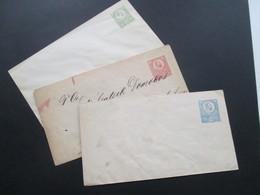 Österreich / Ungarn 1871 Ganzsachen Umschläge U1 - U3 Ungebraucht! König Franz Josef - Briefe U. Dokumente