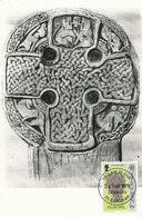 D33151 CARTE MAXIMUM CARD 1978 ISLE OF MAN - CELTIC WHEEL-CROSS - EUROPA CEPT CP ORIGINAL - Sculpture