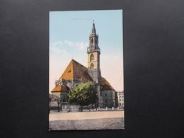 Österreich / Italien 1910er Jahre 4 AK Stadtansichten Bozen. Museumstrasse / Laubengasse / Pfarrkirche / Dr. Streitergas - Bolzano (Bozen)