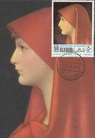 D33157 CARTE MAXIMUM CARD 1968 RAS ALKHAIMA - FABIOLA BY HENNER CP ORIGINAL - Art