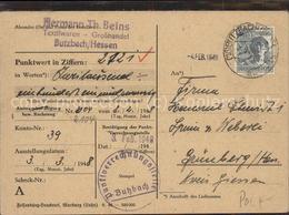 60091883 Butzbach Textilwaren Th. Beins  / Butzbach /Wetteraukreis LKR - Butzbach