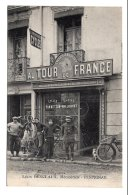 """CPA    66   PERPIGNAN---LEON DESCLAUX, MECANICIEN---ENSEIGNE """" AU TOUR DE FRANCE """"----1915 - Frankreich"""