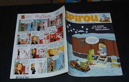 Spirou 3822 Couv Givrés ! Avec Mini Récit  1000 Ans De Siège - Spirou Magazine