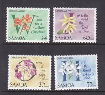 Samoa SG 864-867 1991 Christmas MNH - Samoa