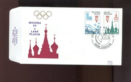 Belgie 1913/14 1978 Olympics Moscow Lake Placid Russia Usa FDC - FDC