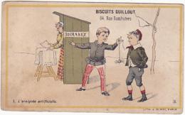 Chromo - Biscuits Guillout - L'araignée Artificielle - Confiserie & Biscuits