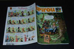 Spirou 3834 Couv Ile Carrément Perdue Avec Mini Récit  Opération Cracoucass - Spirou Magazine