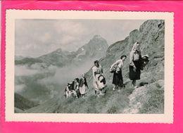 Photo 14,5 X 10 Cm - Femmes En Montagne - Personnes Anonymes