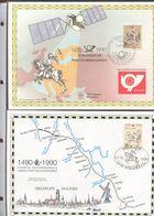 Belgie 1990 2349 Joint Issue Durer Herdenkingskaart DDR + Belgie - Cartes Souvenir