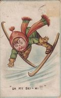 "(ski) ""Oh My Ski-hi !!"", 1914. - Sports D'hiver"