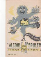 Buvard Propagande Alcool à Bruler - Wash & Clean
