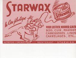 Buvard Cire STARWAX - Wash & Clean