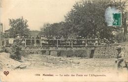 CANTAL MASSIAC  La Suite Des Ponts Sur L'allagnonette - France
