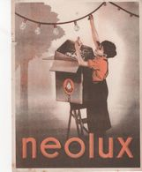 Buvard Ampoules NEOLUX - Electricity & Gas