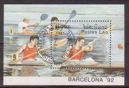 Laos , 1991 , Block Mi.Nr. 136 ( 1250 ) O / Used - Laos