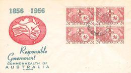 AUSTRALIA - FDC 1956 COMMONWEALTH Mi #262 - FDC