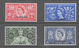 Serie De Tanger Nº Yvert 76/79 ** - Morocco Agencies / Tangier (...-1958)