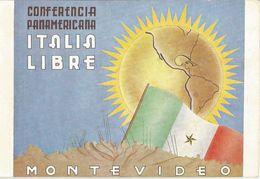 CONFERECIA PANAMERICANA -ITALIA LIBRE-MONTEVIDEO -FP - Uruguay
