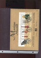 Belgie 2000 B35 Music BACH Herdenkingskaart + Signature MVTM - Cartoline Commemorative