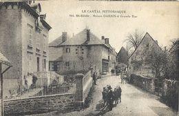 CPA Saint-Illide Maison Darnis Et Grande Rue - Other Municipalities
