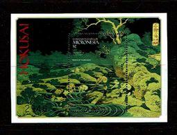 Micronesia 1999 Sc # Bf 353  MNH **  Painting By Hokusai - Art
