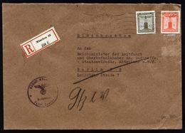 A5302) DR R-Dienstbrief Von Parteikanzlei München 30.5.42 A. Reichsminister Luftfahrt - Deutschland