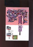 Belgie 2009 Ex BL175 Literature Lanoye Nothomb Boekenbeurs Antwerpen Herdenkingskaart - Souvenir Cards